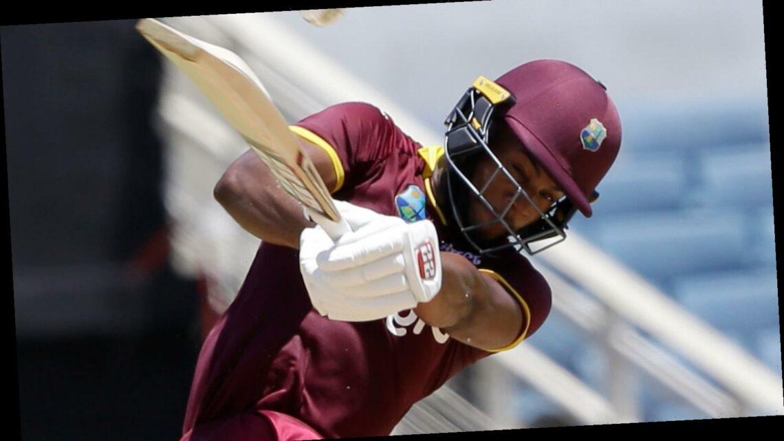 Shai Hope hits hundred as West Indies hammer Sri Lanka in ODI opener