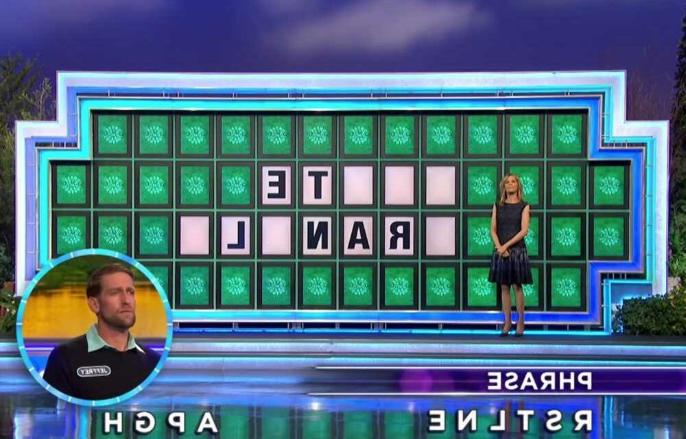 'Wheel of Fortune' host Pat Sajak accidentally answers puzzle during show