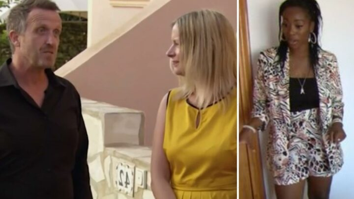 A Place in the Sun Scarlette Douglas mortified as couple halt viewing of 'tired' property