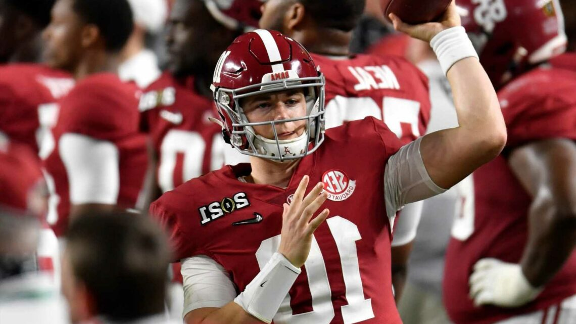 Alabama QB Mac Jones falls into Patriots' lap in 2021 NFL Draft