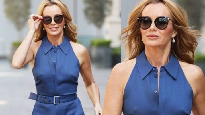 Amanda Holden: I Can See Your Voice star wows as she dares to go braless in jumpsuit