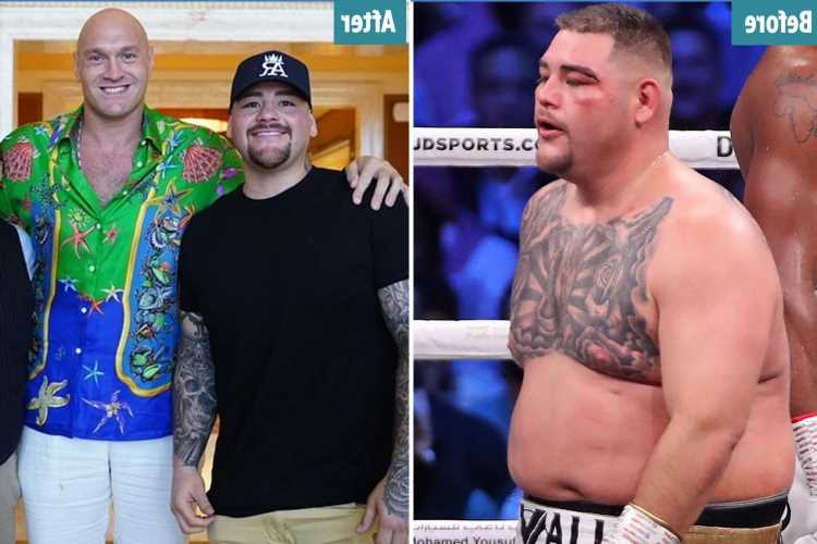 Andy Ruiz Jr shows off his epic body transformation ahead of return after shedding two stone since Anthony Joshua defeat