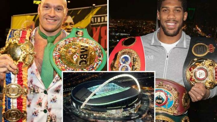 Anthony Joshua fight date with Tyson Fury confirmed by Eddie Hearn as July 24 IF £500m clash takes place at Wembley
