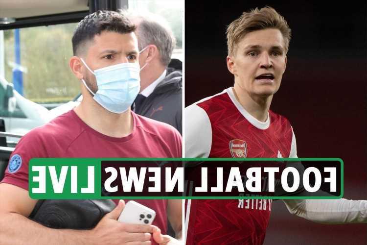 Aubameyang Arsenal return, Odegaard BLOW, Chelsea target Aguero, Haaland LATEST – transfer news updates