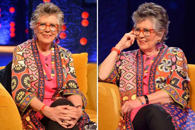 Bake Off's Prue Leith reveals she stripped naked after seeing 'bottoms bouncing everywhere' at a Paris orgy