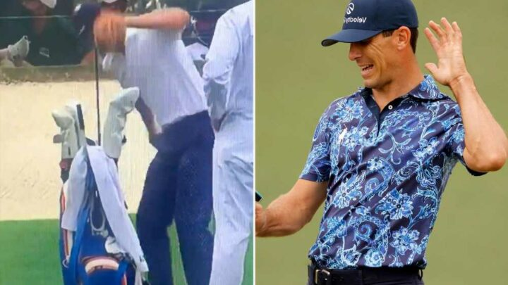 Billy Horschel's Masters meltdown 'may have crossed the line'