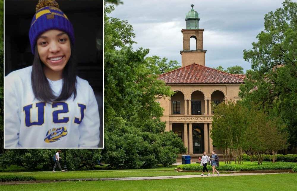 Body of missing LSU freshman Kori Gauthier found in Mississippi River