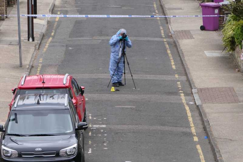 Boy, 13, fighting for life after he was stabbed multiple times near school on Isle of Dogs in East London
