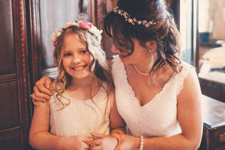 Bride sparks outrage by demanding step-daughter, nine, wears shapewear to her wedding because 'nothing fits her'