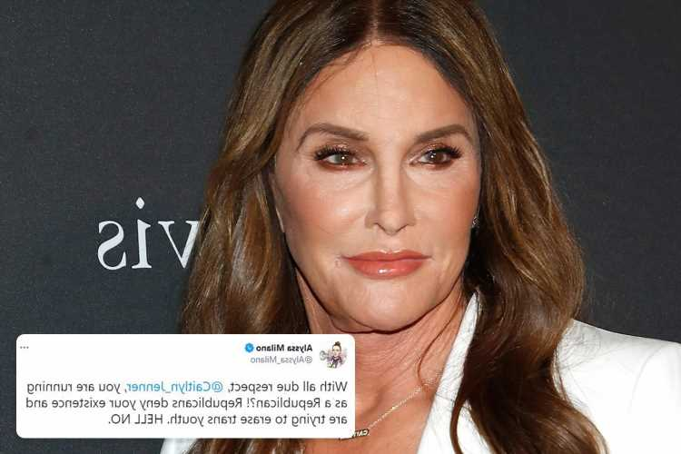 Caitlyn Jenner's run for California governor slammed as celebs pile in claiming 'Republicans deny your existence'