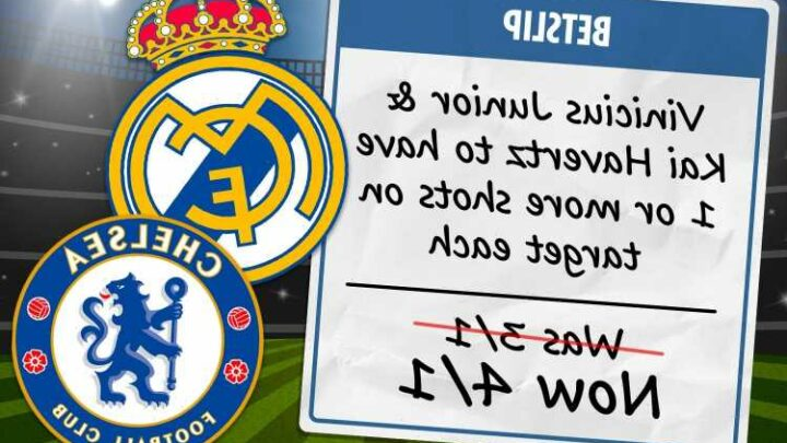 Champions League: Best bets and odds boosts for Real Madrid vs Chelsea