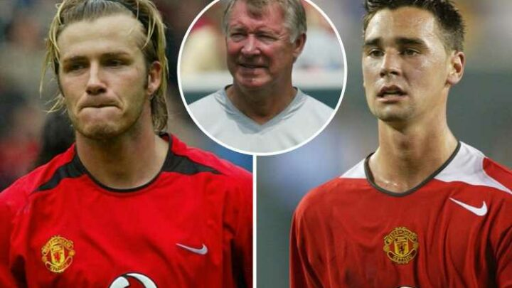 Chris Eagles compares Man Utd journey to David Beckham's and was one of Sir Alex Ferguson three favourite youth stars
