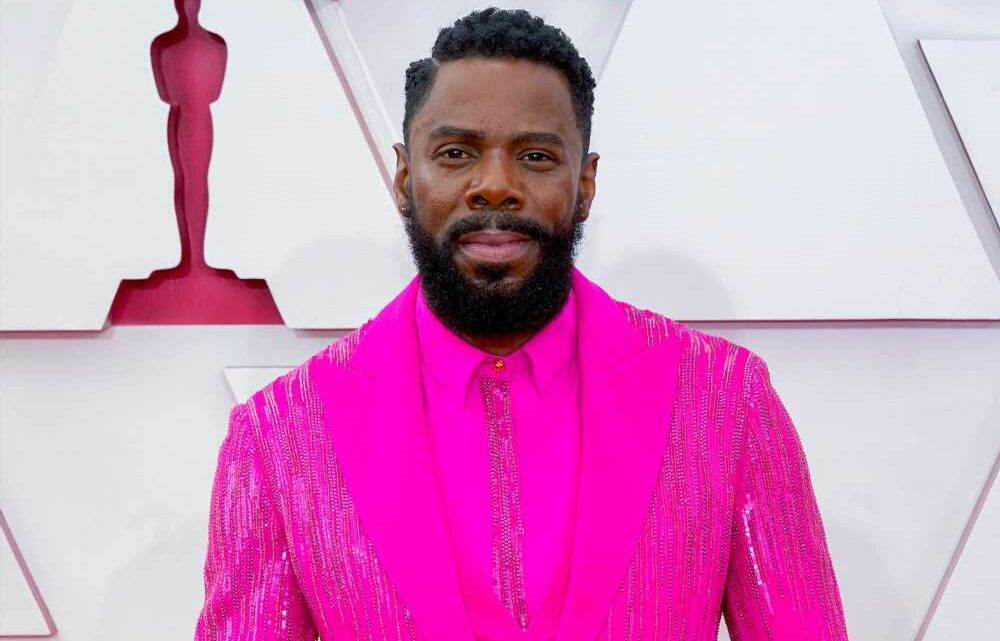 Colman Domingo's 2021 Oscars look took 150 hours to embroider
