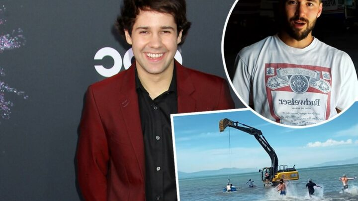 David Dobrik Exposed: Former Vlog Squad Member Jeff Wittek Shares Shocking Video Of The YouTuber Nearly Killing Him In Failed Stunt