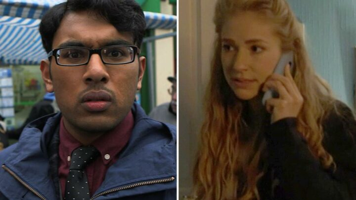 EastEnders fans convinced Nancy Carter has secretly split with husband Tamwar Masood