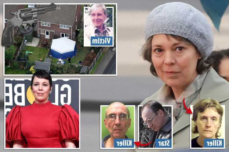 Evil killer who shot parents dead & buried them in shallow graves will be played by Olivia Colman in chilling new drama
