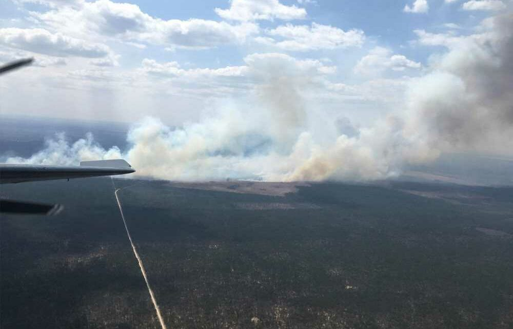 Fire scorches thousands of acres in Michigan, forces evacuations