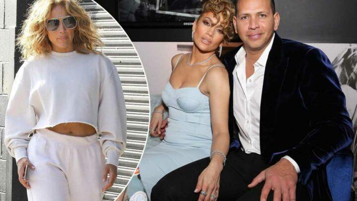 First photos emerge of Jennifer Lopez since confirming Alex Rodriguez split