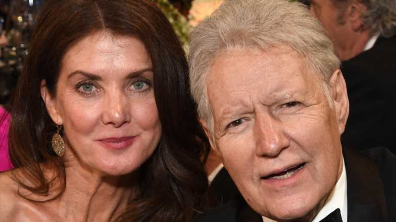 Here's What Alex Trebek's Wife Said In Her First Interview Since His Death