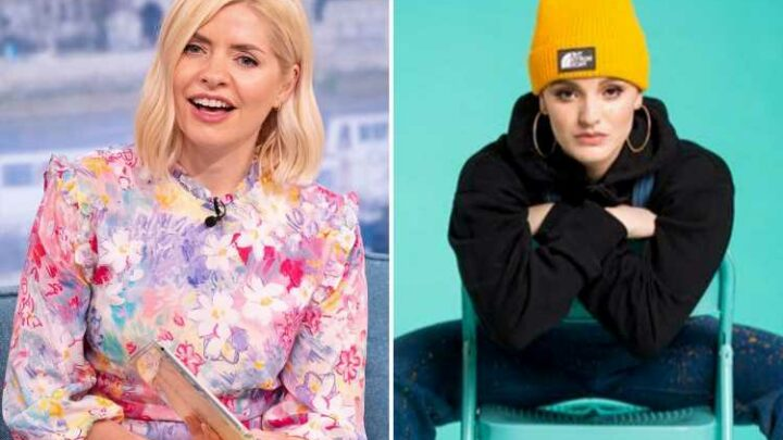 Holly Willoughby's 'big boobs' mocked in new song as Olivia Swann sings about This Morning presenter