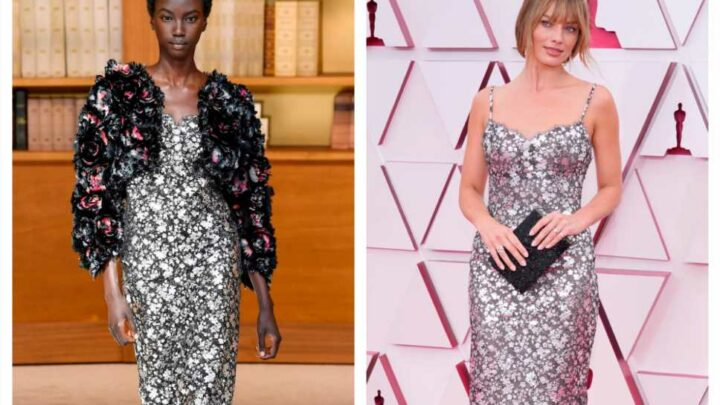 How 7 Oscars Red Carpet Outfits Looked on the Runway