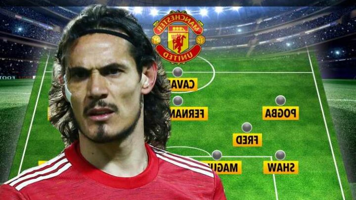 How Man Utd could line up against Liverpool with Cavani keeping place after heroics vs Roma and Henderson back in goal