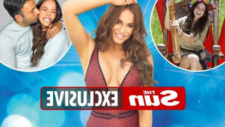 I feel sexier than ever having 'boobs and a bum and not being a size 6' says Vicky Pattison