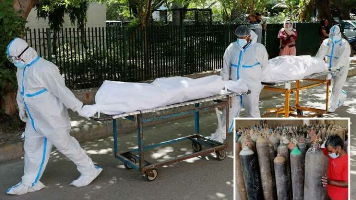 India vows to HANG officials for delaying Covid oxygen supplies to desperate hospitals in devastating 2nd wave 'tsunami'