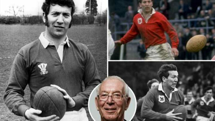 John Dawes dead at 80: Former Wales and Lions captain passes away after battle with illness as rugby world pays tribute