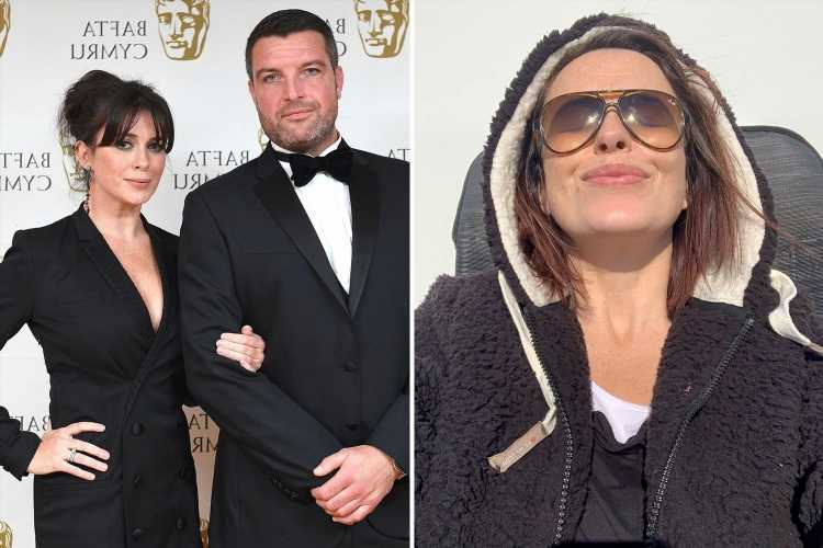Keeping Faith's Eve Myles, 42, pregnant with third child with co-star husband Brad Freegard