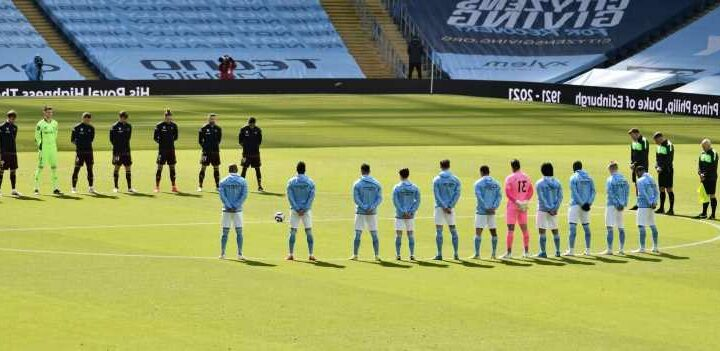 Man City and Leeds stars FORGET to take knee in support of Black Lives Matter in gaffe by referee Andre Marriner
