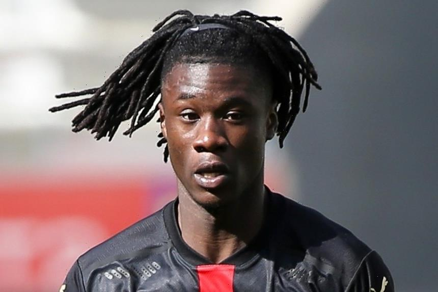 Man Utd and Real Madrid on red alert as Camavinga sparks transfer scramble after 'refusing to sign new Rennes contract'