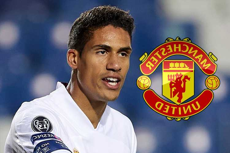 Man Utd in Raphael Varane 'advanced' transfer talks and Real Madrid are braced for defender's exit