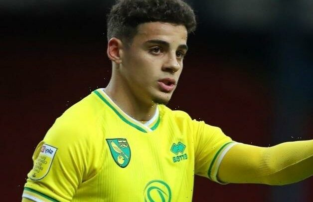 Man Utd joined by West Ham in five-way Max Aarons transfer fight as Norwich demand £30m fee for full-back
