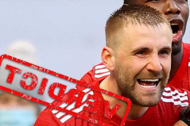 Man Utd verdict: Luke Shaw makes Jose Mourinho eat his words as resurgent star shines again in victory over Tottenham