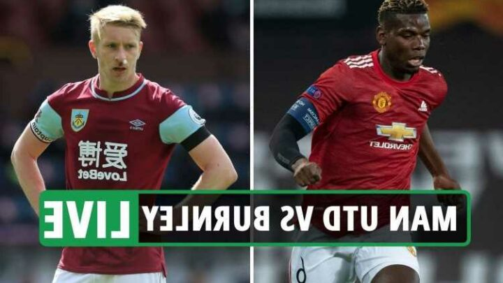 Man Utd vs Burnley: Live stream, TV channel, kick-off time, and team news for Premier League match