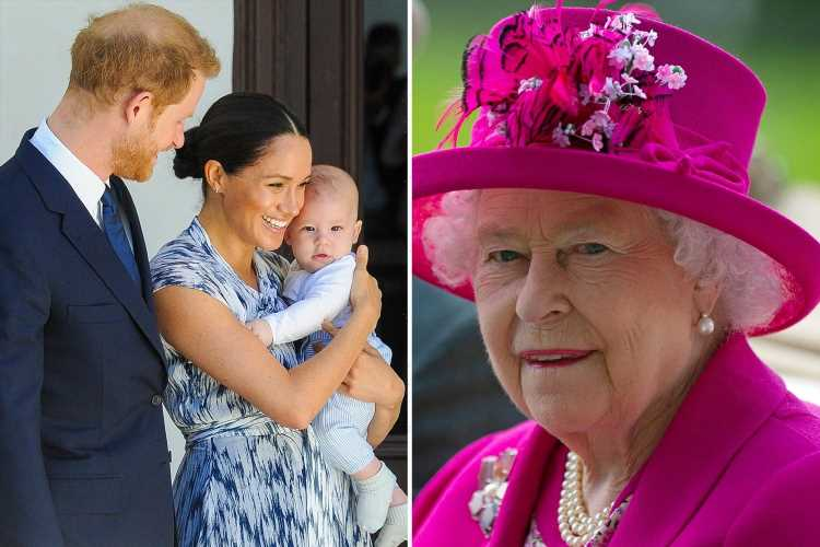 Meghan Markle and Archie 'spoke to Queen before Prince Philip's funeral' & with Harry every day during 'difficult' trip