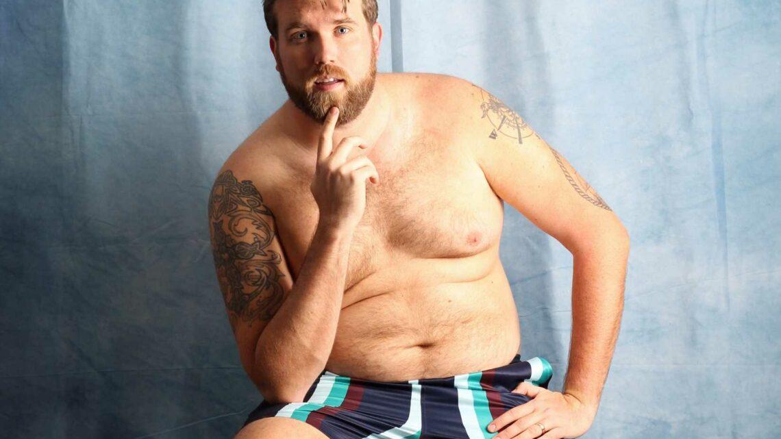 Model Zach Miko Launches Swim Line for Big Guys