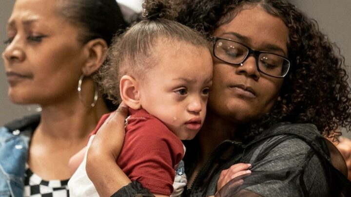 Mother of Daunte Wright's son, 2, 'really hurt' because he doesn't have a father after fatal police shooting