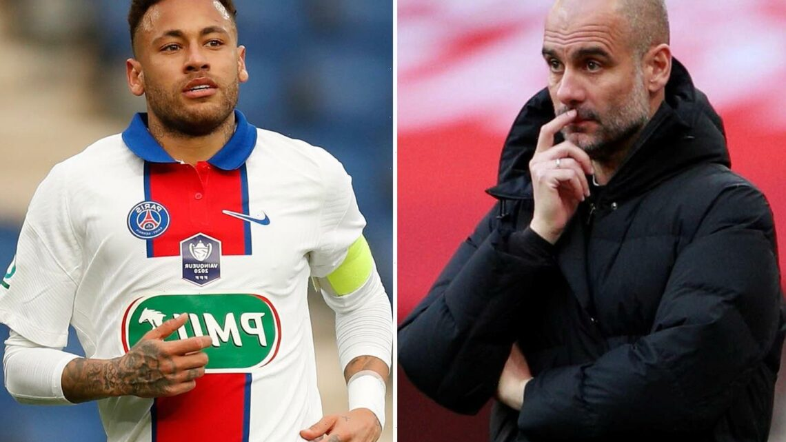 Pep Guardiola reveals he has been having sleepless nights fearing Neymar as Man City prepare for PSG in Champions League
