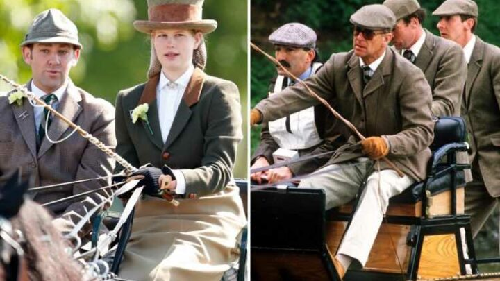 Prince Philip 'leaves granddaughter Lady Louise, 17, his beloved ponies and carriage'