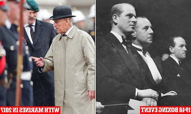 Prince Philip's 22,217 royal engagements started with a boxing match