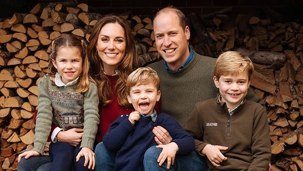 Prince William & Kate Middleton Play With George, Charlotte, & Louis At Beach In Rare Family Video