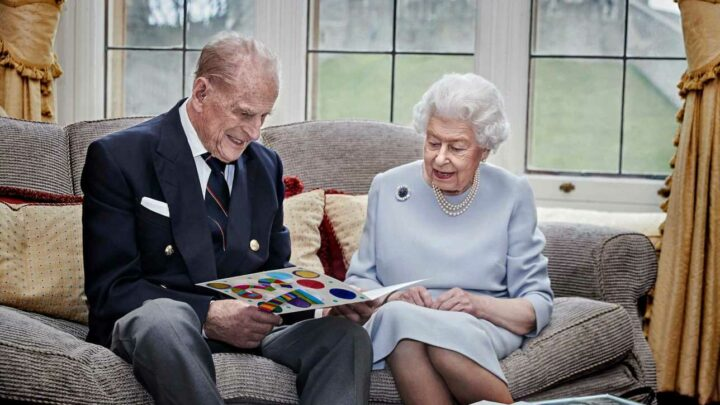 Queen 'moves out of Buckingham Palace, writes on black-rimmed paper and collects mementos' as she mourns Prince Philip