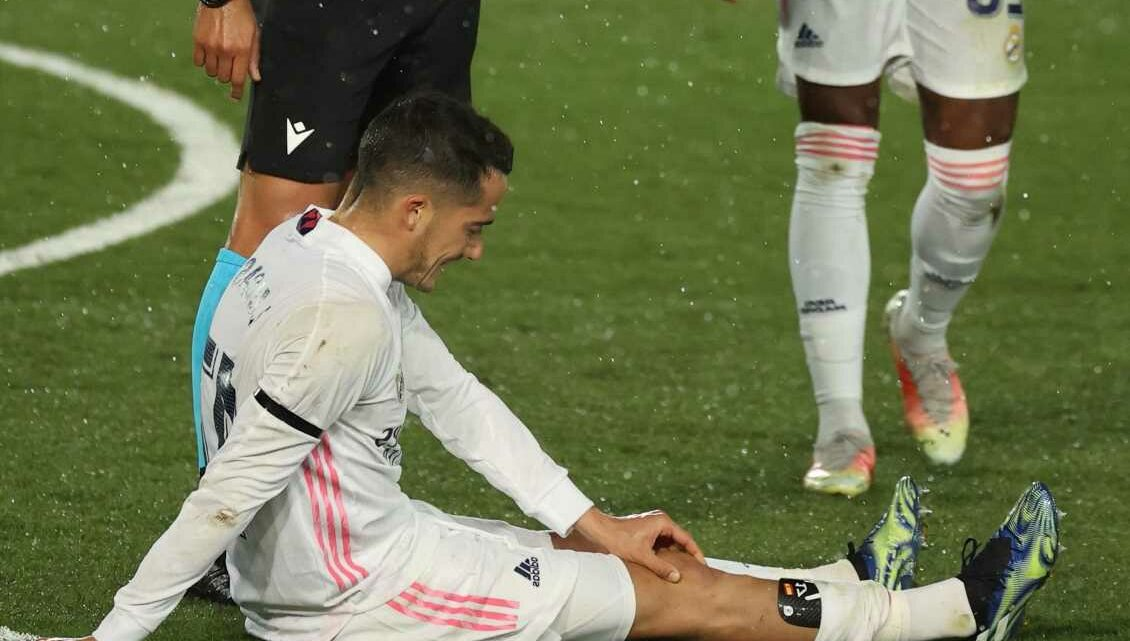 Real Madrid suffer blow with Lucas Vazquez injured just days before Liverpool clash as Zidane moans 'we're at limit'