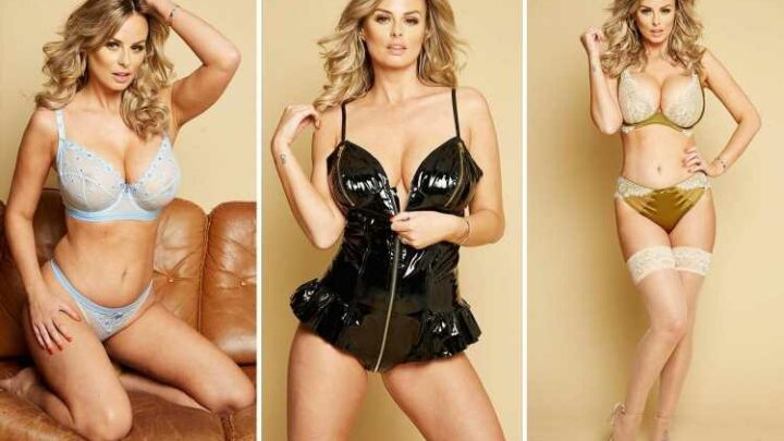 Rhian Sugden sizzles in top lingerie as she puts high street's sexy underwear to the test