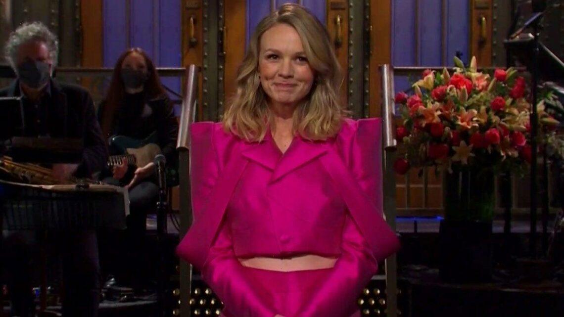 'SNL': Carey Mulligan On Getting Mistaken for Michelle Williams