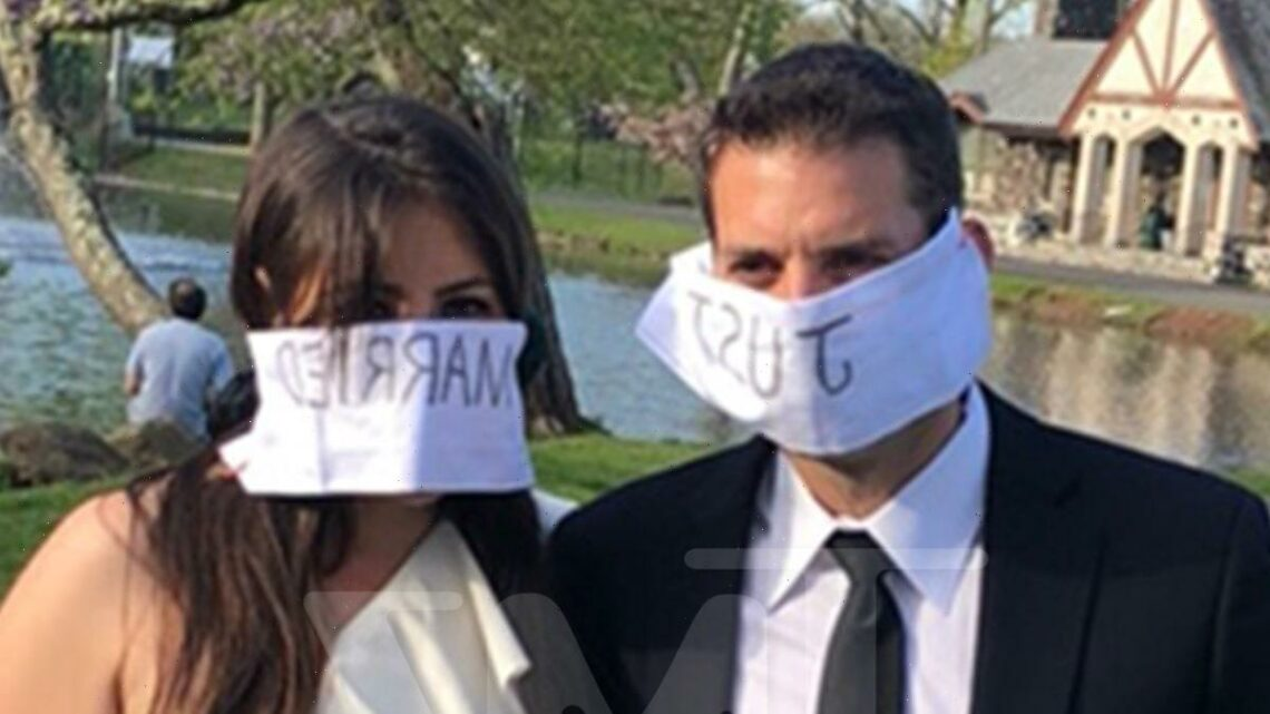 Socially Distant NJ Wedding Ends with Groom Losing Ring, Frantic Search Party