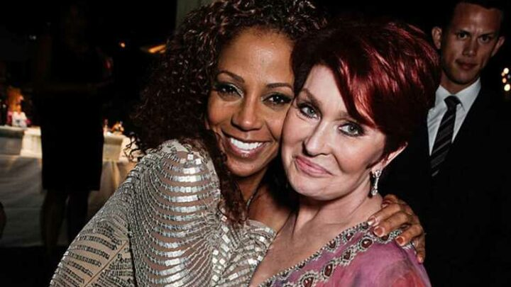The Talk alum Holly Robinson Peete slams Sharon Osbourne after disgraced star calls former costars 'disgruntled b****es'