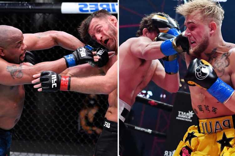 UFC legend Daniel Cormier claims he would 'KILL' Jake Paul in fight after YouTuber labelled him 'fat' in Twitter bust-up